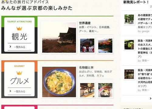 京都の観光なら ガイドブックス  地元ライターがつくる 観光 旅行ガイドブック 1
