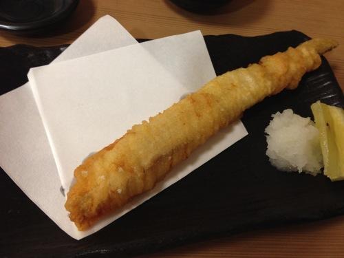 生穴子の天ぷら
