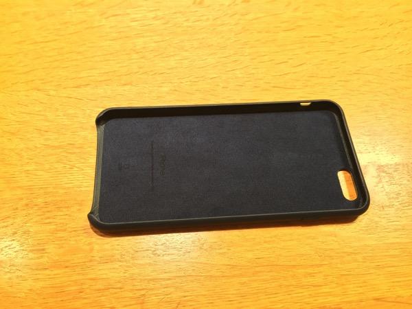 iPhone6_Plus純正レザーケース
