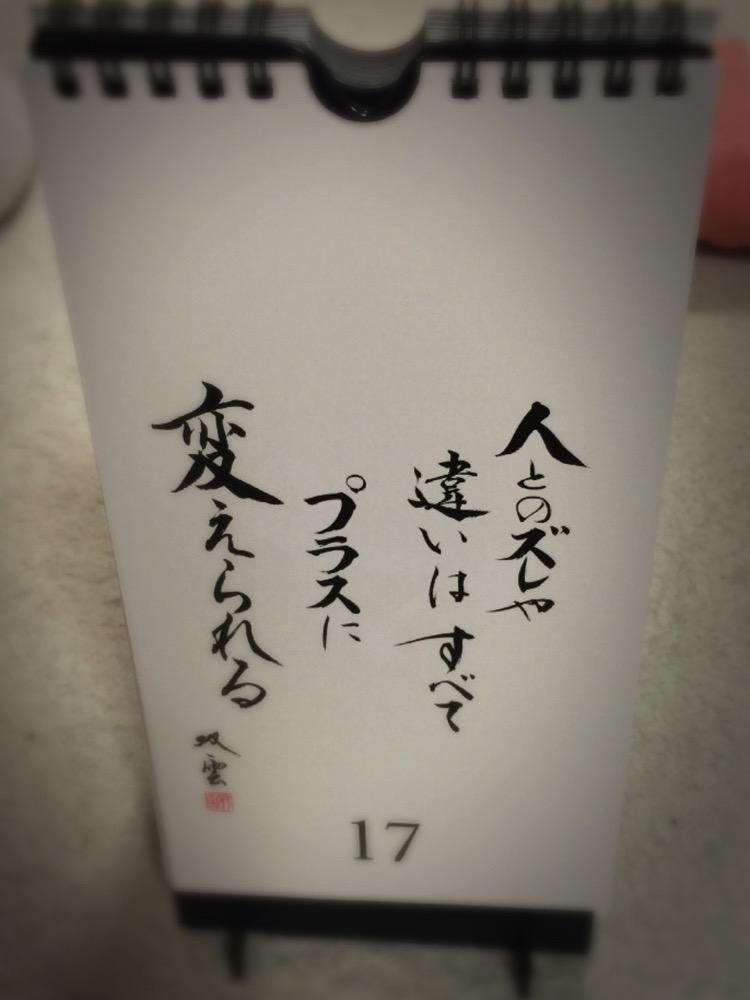 武田双雲_日めくりカレンダー